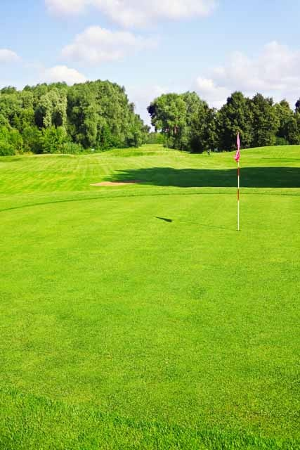 Soil improvement for golf course - Consagros AG - Steffisburg